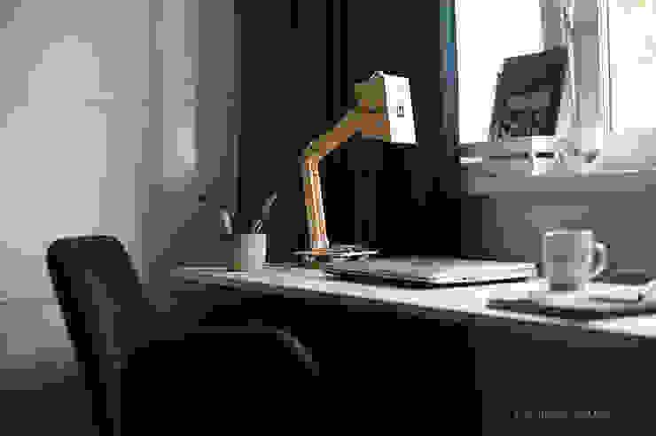 Квартира в скандинавском стиле Рабочий кабинет в скандинавском стиле от ИНТЕРЬЕР-ПРОЕКТ.РУ Скандинавский