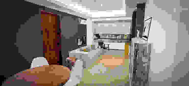 Salas de estar modernas por Cris Manzolli Arquiteta Moderno