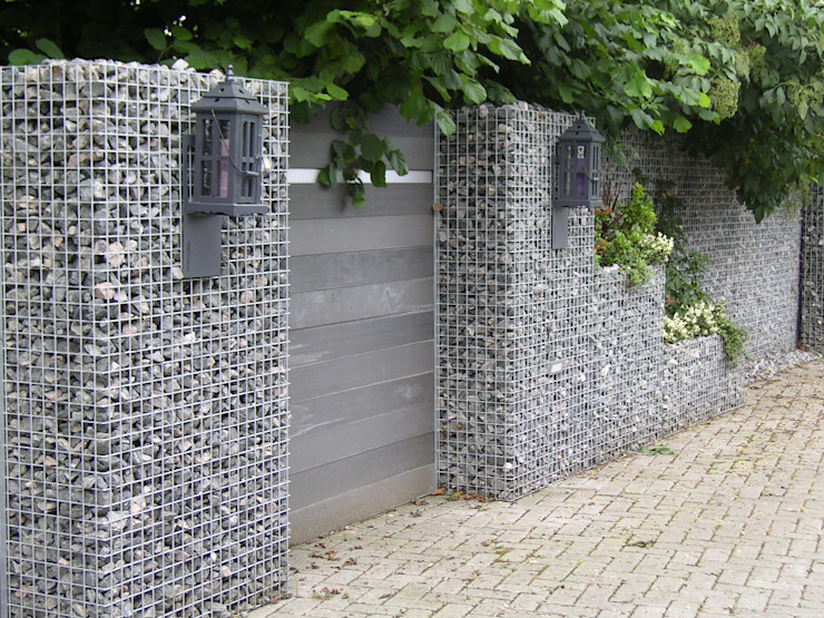 Korven en haarden Moderne tuinen van Gardeco Modern