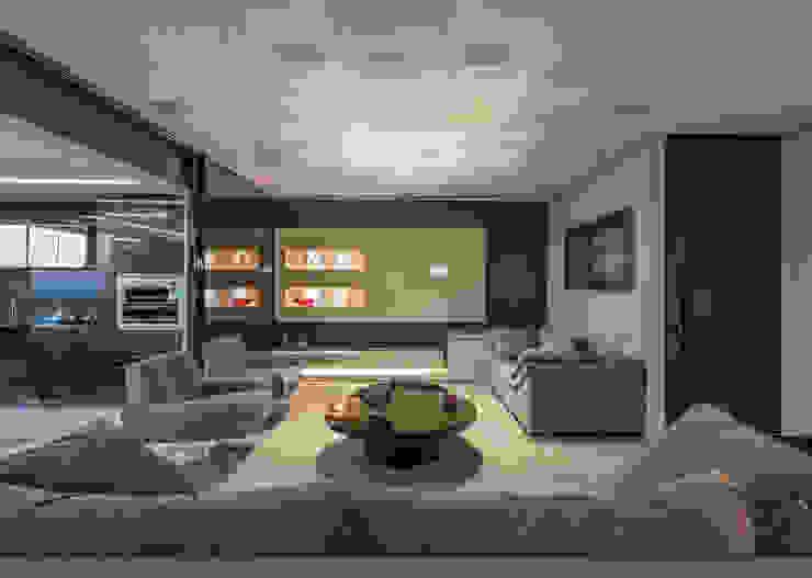 Ruang Keluarga Modern Oleh Interiores Iara Santos Modern