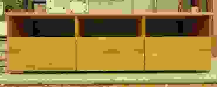 TV meubel eiken van Atelier de Wig Scandinavisch