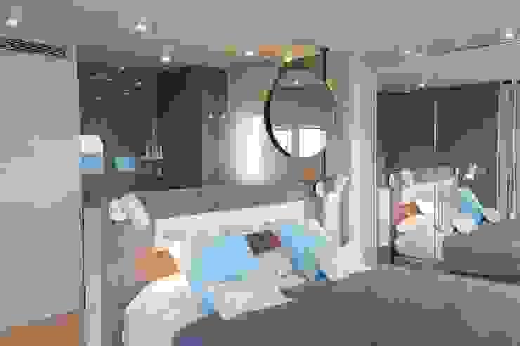 Apartamento l'Estartit - Illes Medes Dormitorios de estilo mediterráneo de Pia Estudi Mediterráneo