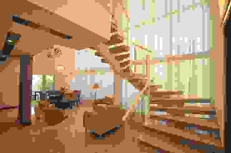 Casa BV Salas de estar modernas por CLM Arquitetos Associados LTDA Moderno