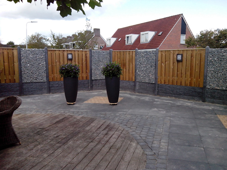 Giardino moderno di Gardeco Moderno