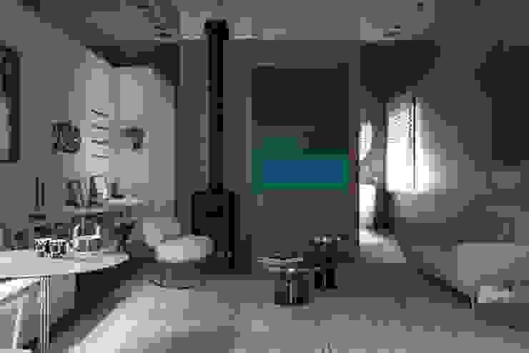 Obra de arte Salas de estar escandinavas por Patricia Martinez Arquitetura Escandinavo