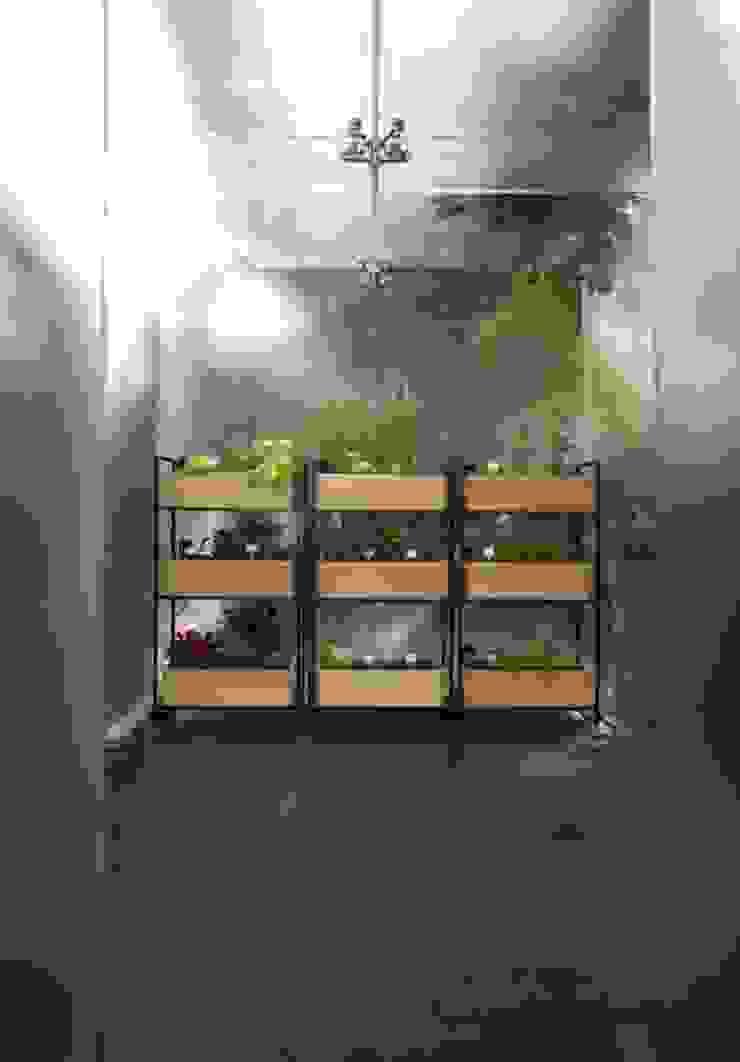 Horta orgânica vertical Casas escandinavas por Patricia Martinez Arquitetura Escandinavo