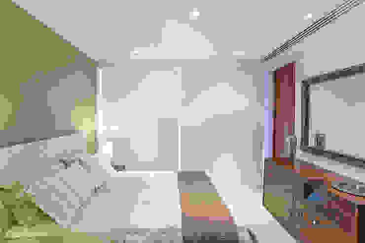 Kamar Tidur Gaya Eklektik Oleh PORTO Arquitectura + Diseño de Interiores Eklektik