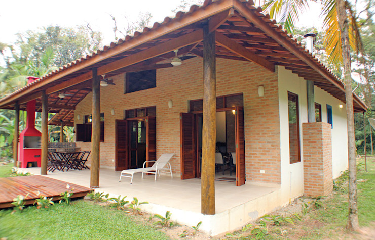 Patios by RAC ARQUITETURA, Colonial