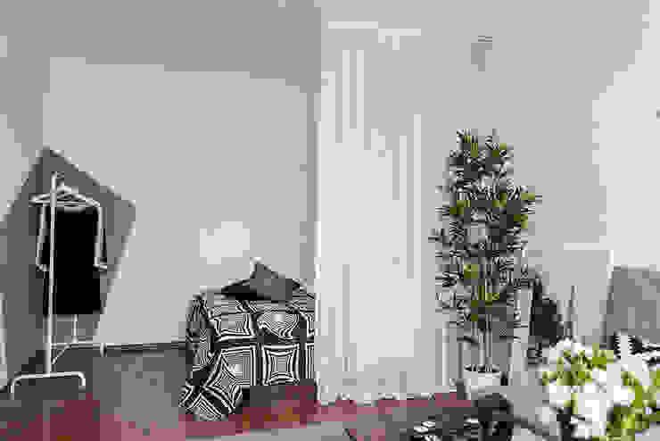 L'Essenziale Home Designs Scandinavian style bedroom