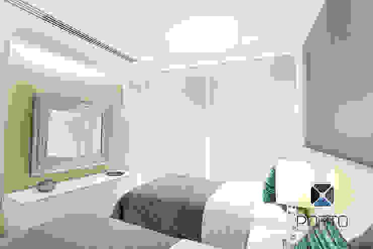 Eclectic style bedroom by PORTO Arquitectura + Diseño de Interiores Eclectic