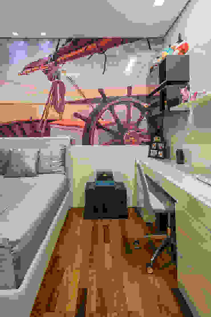 Kamar Tidur Modern Oleh Interiores Iara Santos Modern