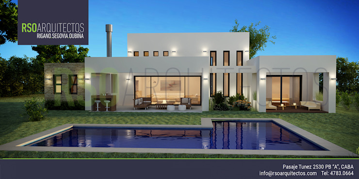 RSOarquitectos Modern houses