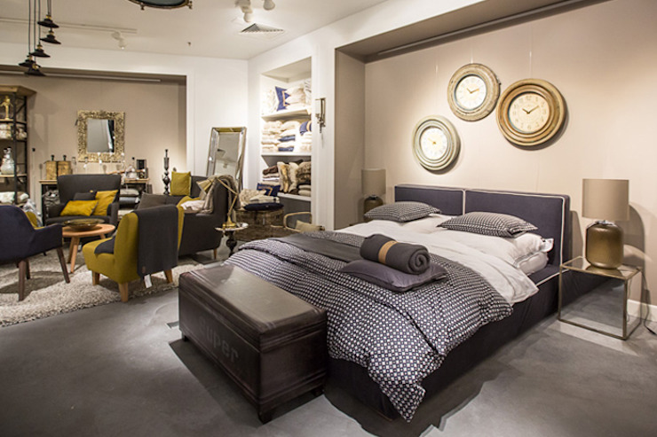 Eclectic style bedroom by 2kul INTERIOR DESIGN Eclectic Textile Amber/Gold