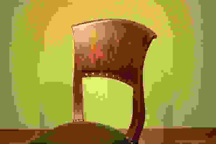Chair 【Teak blown】: najamが手掛けたアジア人です。,和風 木 木目調