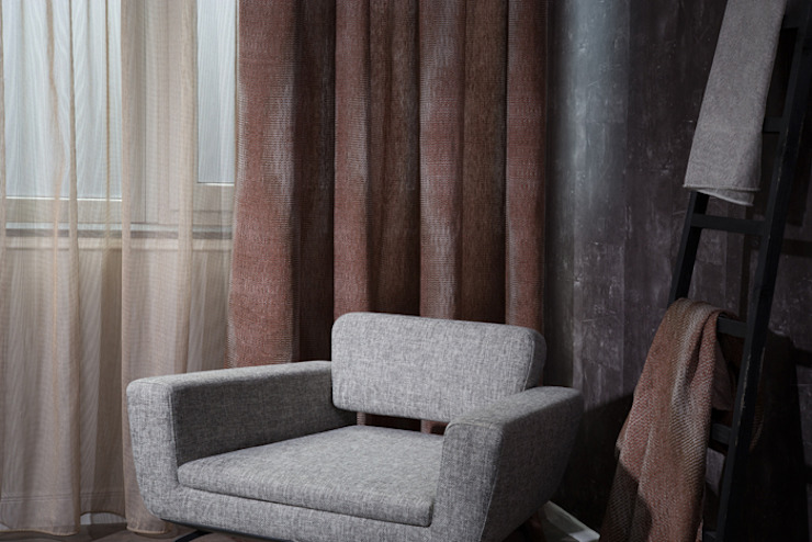 rustic  by Indes Fuggerhaus Textil GmbH, Rustic Textile Amber/Gold