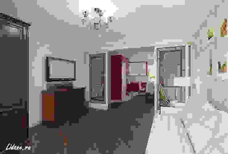 Семейные апартаменты. Москва Гостиная в классическом стиле от Lidiya Goncharuk Классический