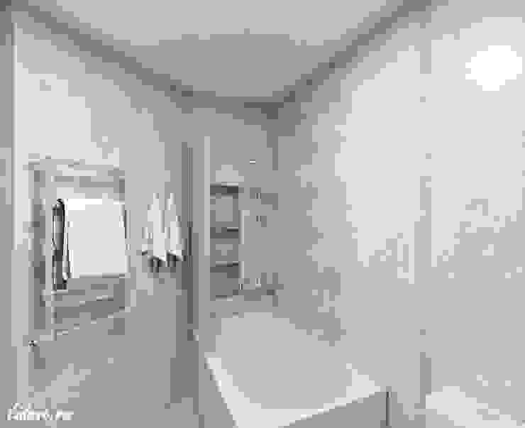Семейные апартаменты. Москва Ванная комната в стиле минимализм от Lidiya Goncharuk Минимализм