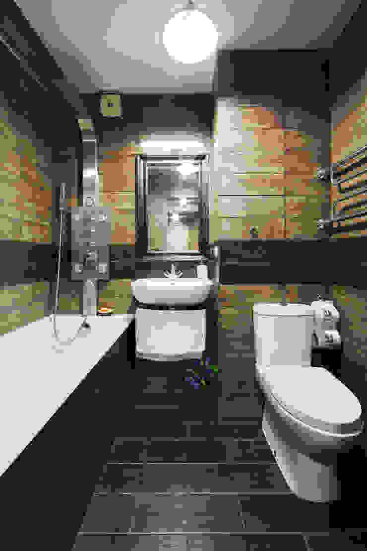 Baños de estilo rústico de Порядок вещей - дизайн-бюро Rústico