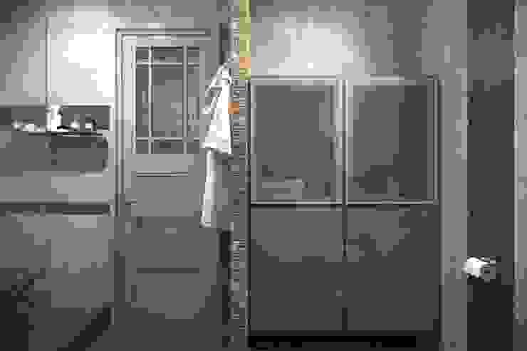 ИНДУСТРИЯ КОМФОРТА Ванная в стиле лофт от Дизайн студия Алёны Чекалиной Лофт