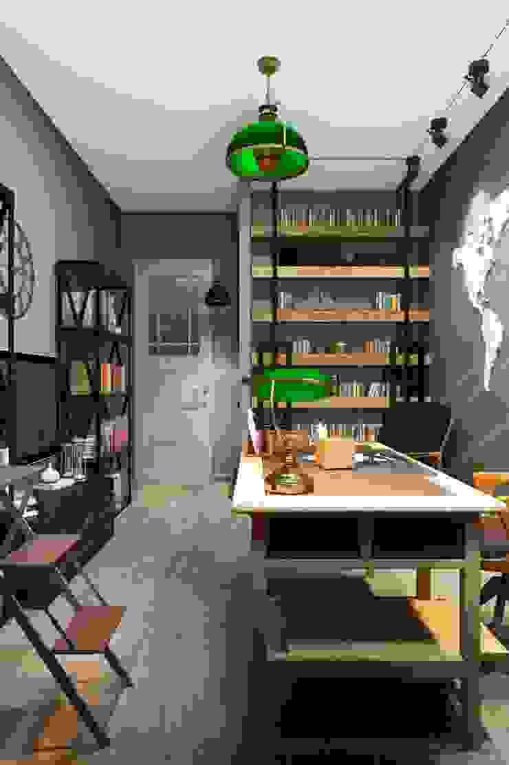 ИНДУСТРИЯ КОМФОРТА Рабочий кабинет в стиле лофт от Дизайн студия Алёны Чекалиной Лофт