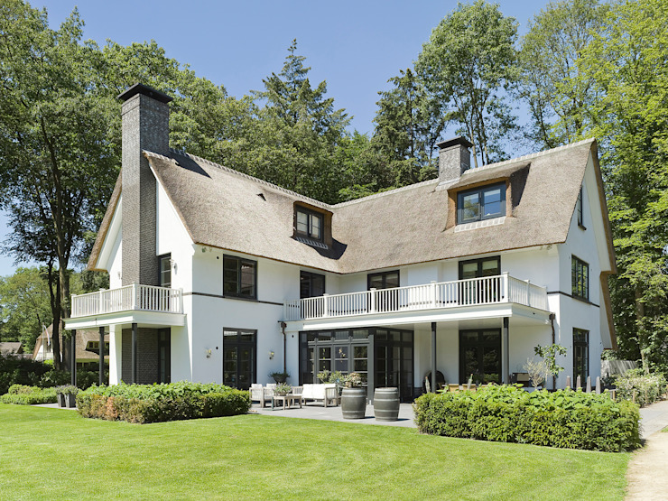 Terrasse de style  par Friso Woudstra Architecten BNA B.V., Moderne