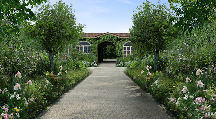 Jardin méditerranéen par Anna Paghera s.r.l. - Green Design Méditerranéen