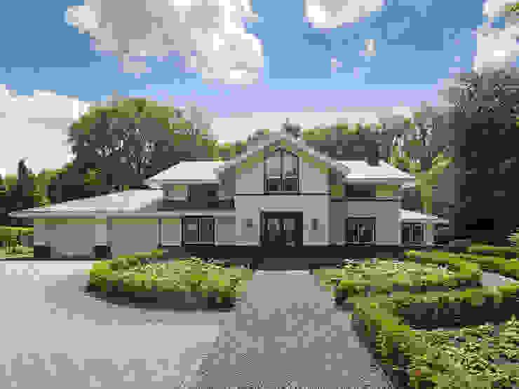 Дома в стиле модерн от Friso Woudstra Architecten BNA B.V. Модерн