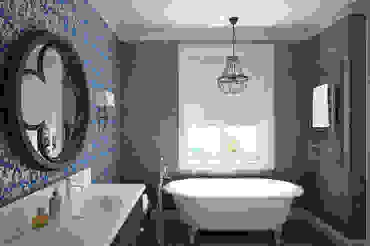 Санузел Ванная комната в эклектичном стиле от lab21studio Эклектичный