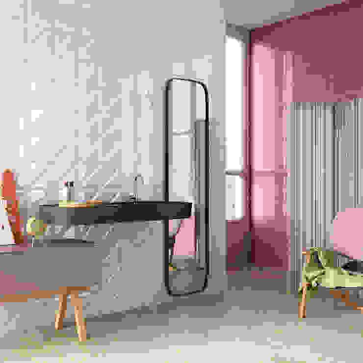 Nowoczesna łazienka od Azulejos Peña s.l. Nowoczesny Płytki