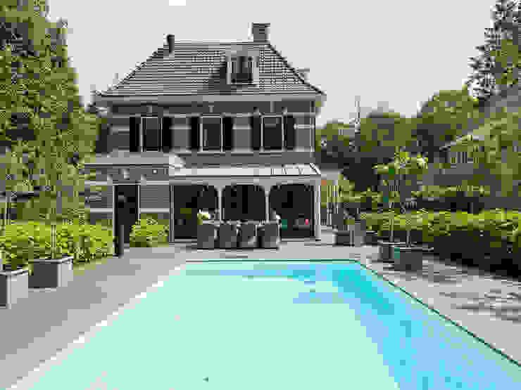 Villa te Zeist - Zwembad Eclectische zwembaden van Friso Woudstra Architecten BNA B.V. Eclectisch