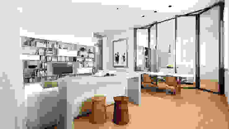 AUS 01 Apartment no.3 in Turin 3Dedintorni WohnzimmerSofas und Sessel