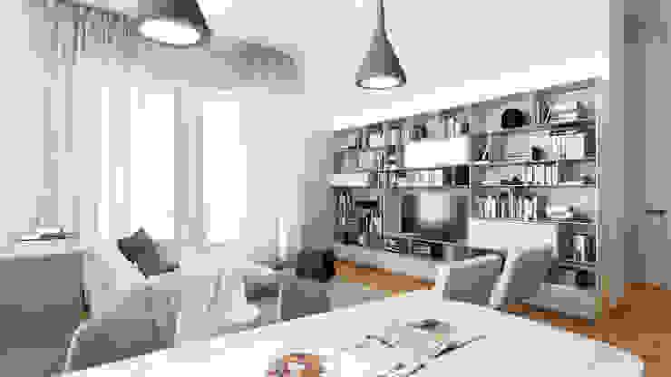 AUS 01 Apartment no.3 in Turin 3Dedintorni WohnzimmerBeleuchtung
