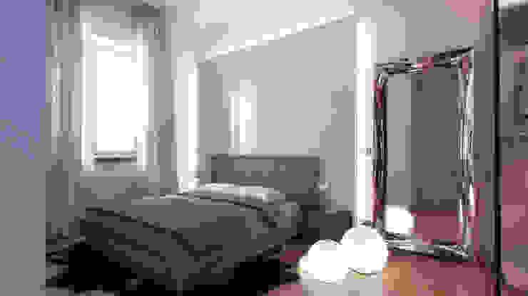 AUS 01 Apartment no.3 in Turin 3Dedintorni SchlafzimmerBetten und Kopfteile