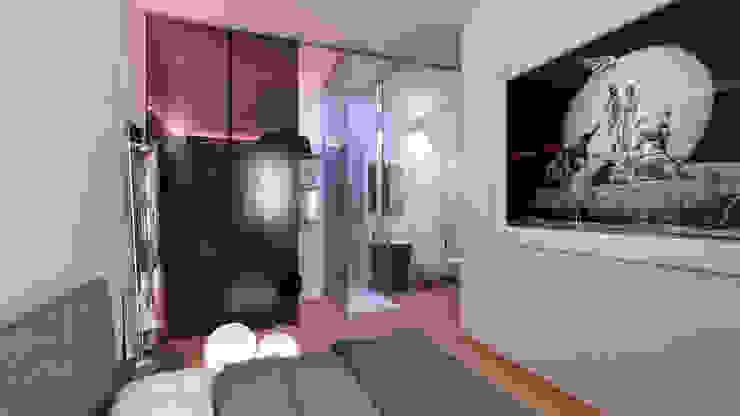 AUS 01 Apartment no.3 in Turin 3Dedintorni SchlafzimmerKleiderschränke und Kommoden