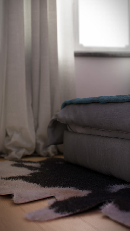 AUS 01 Apartment no.3 in Turin 3Dedintorni SchlafzimmerAccessoires und Dekoration