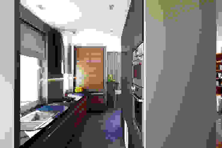 Кухня Кухня в стиле минимализм от lab21studio Минимализм