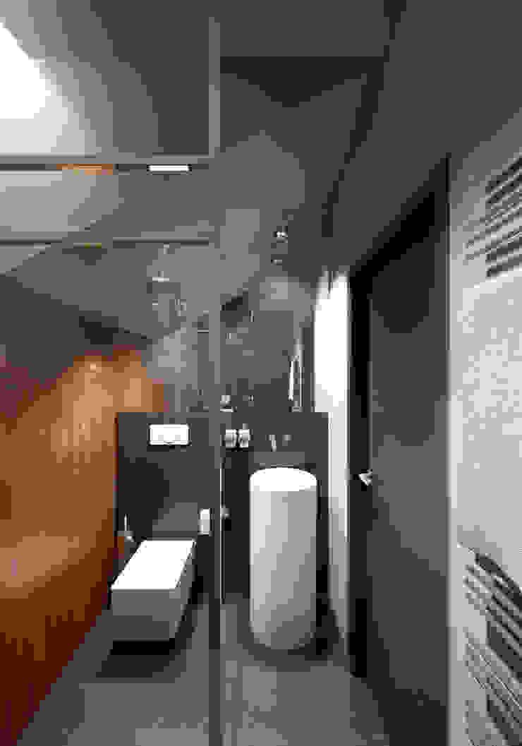 Санузел Ванная комната в стиле минимализм от lab21studio Минимализм