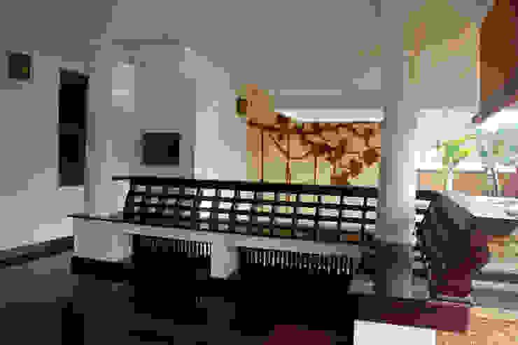 Krishnakumar Residence dd Architects Patios & Decks