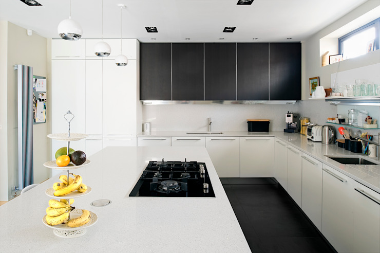 The Links, Whitley Bay Modern kitchen by xsite architecture LLP Modern