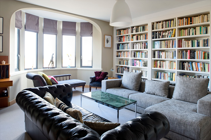 The Links, Whitley Bay Modern living room by xsite architecture LLP Modern