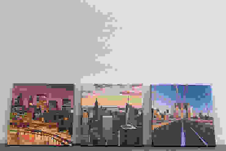 New York: Neun Szenen: modern  von Bimago,Modern