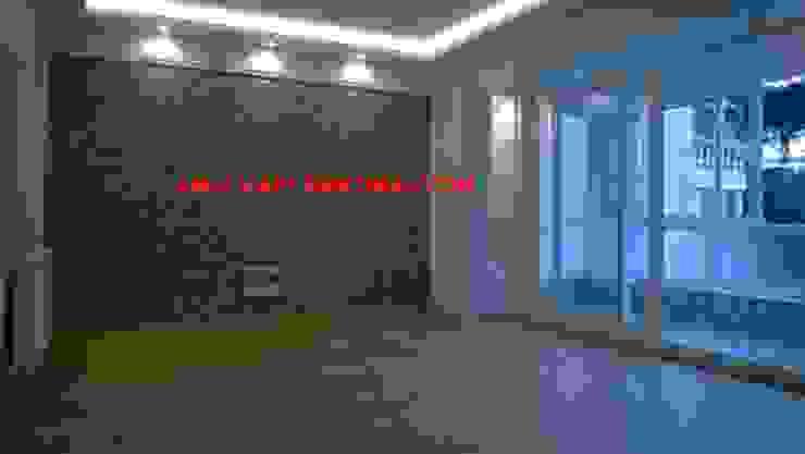 anlı yapı dekorasyon – salon dekorasyon: modern tarz , Modern Doğal Elyaf Bej