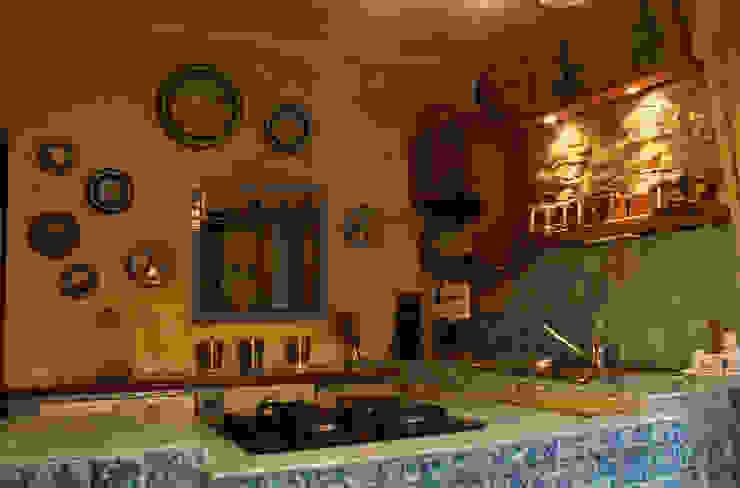 Cozinhas rústicas por Naro architettura restauro 'Dein Landhaus im Piemont' Rústico