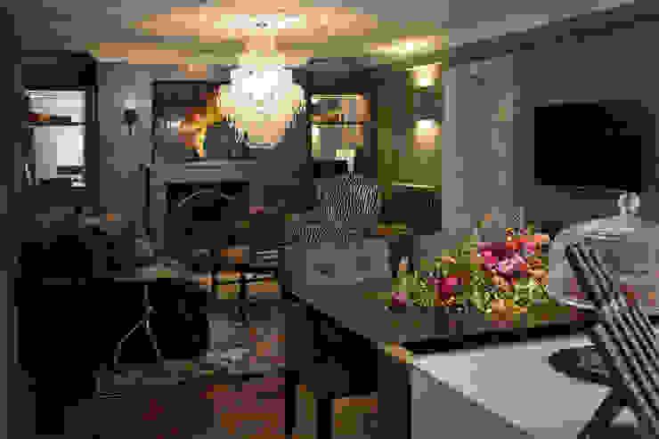 Living Room Livings de estilo clásico de Roselind Wilson Design Clásico