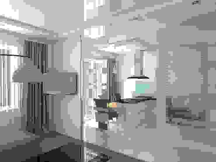 Квартира – студия в пос. Шушары Кухня в стиле минимализм от Студия дизайна интерьера 'SUN' Минимализм