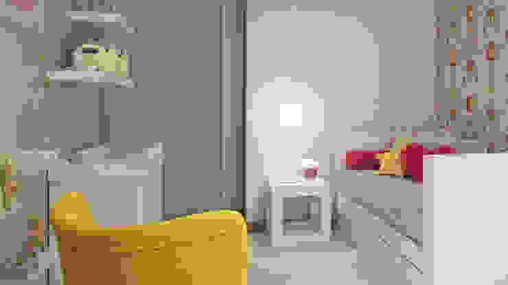 Camera da letto in stile classico di Spaceroom - Interior Design Classico