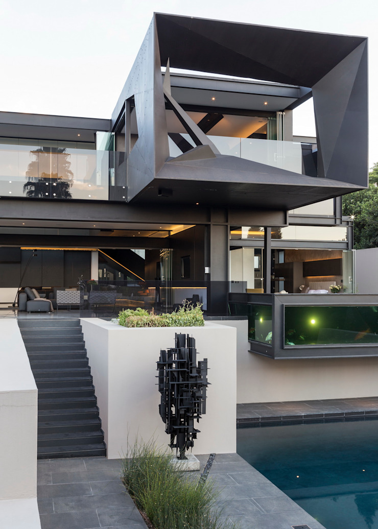 Kloof Road House by Nico Van Der Meulen Architects Сучасний