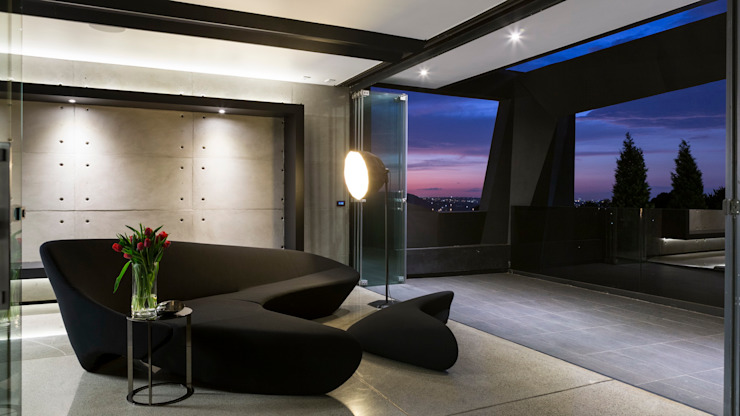 Kloof Road House Nico Van Der Meulen Architects Modern media room