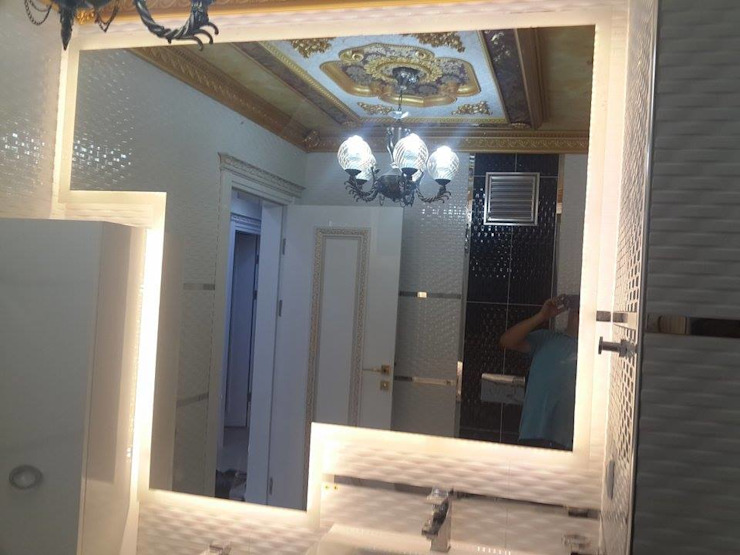banyo modelleri VERA CAM AYNA DEKORASYON Klasik