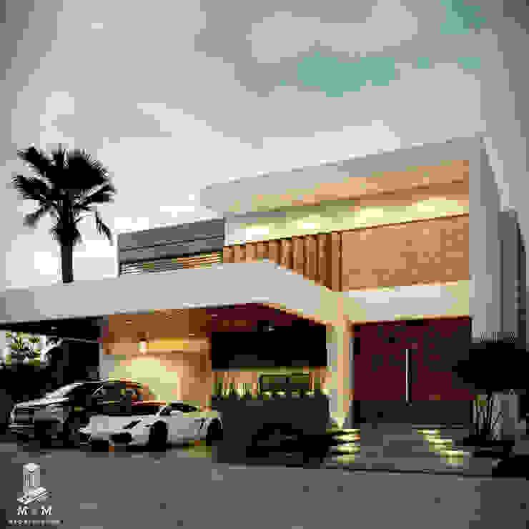 CASA :AV: Casas de estilo  por M+M CONSTRUCCIONES MARIN , Moderno